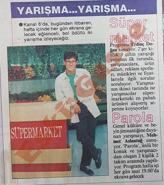 Kanal 6'da iki yarışma: Süper Market ve Parola