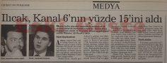 Mehmet Ali Ilıcak Kanal 6'nın yüzde 15'ini aldı
