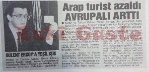Kültür ve Turizm Bakanı Mesut Yılmaz