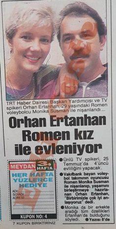 Orhan Ertanhan Romen kız ile evleniyor