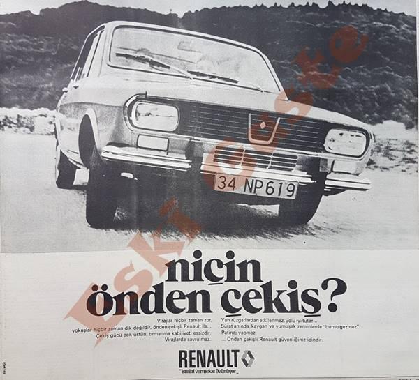 1973 Renault Reklamı
