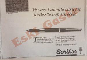 Scrikss Tükenmez Kalem