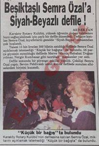 Semra Özal Beşiktaş