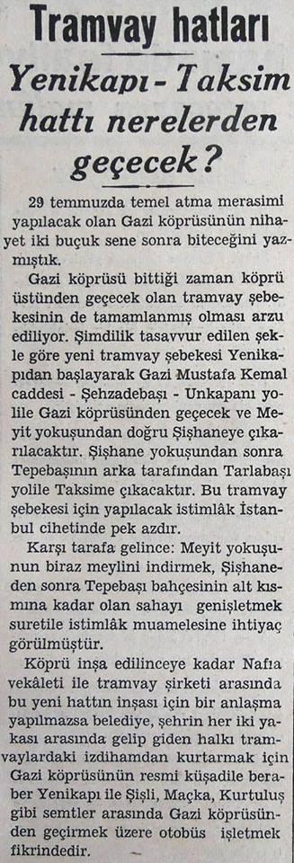 Yenikapı-Taksim hattı nerelerden geçecek?