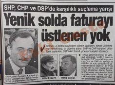 1994 yerel seçimleri sonrası solda faturayı üstlenen yok