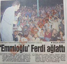 Ferdi Tayfur Gülhane Konseri