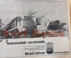 Mobil Delvac reklamı