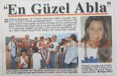 "Pınar Altuğ ""En Güzel Abla"" seçildi"
