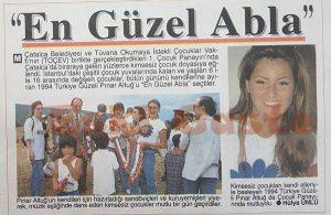 Türkiye Güzeli Pınar Altuğ