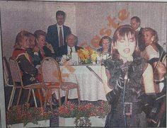 Süleyman Demirel Ebru Gündeş'i dinledi