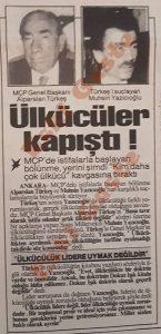 Alparslan Türkeş - Muhsin Yazıcıoğlu