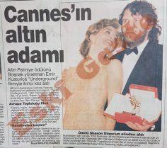 Cannes'ın altın adamı Emir Kusturica