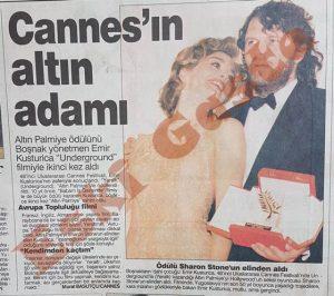 Emir Kusturica - Cannes