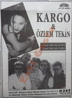 Kargo & Özlem Tekin konseri