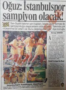 Oğuz Çetin İstanbulspor