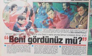 Ahmet Yıldırım Samsunspor