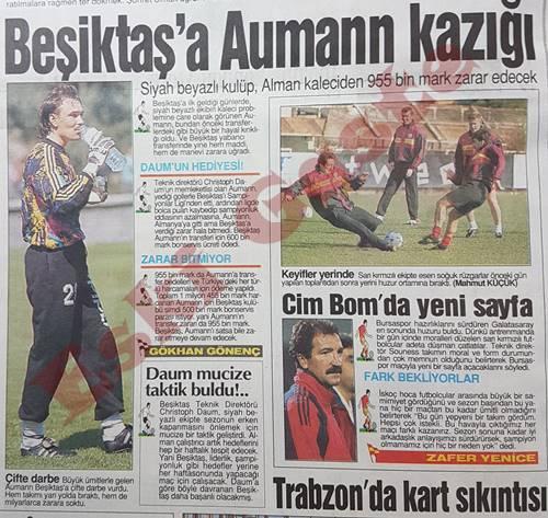 Beşiktaş'a Aumann kazığı