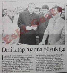 Recep Tayyip Erdoğan Kitap Fuarını Açtı
