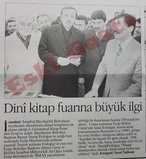 Recep Tayyip Erdoğan Dini kitap fuarını açtı