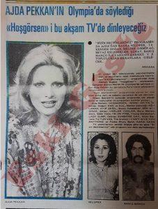 Ajda Pekkan Olympia - 1976