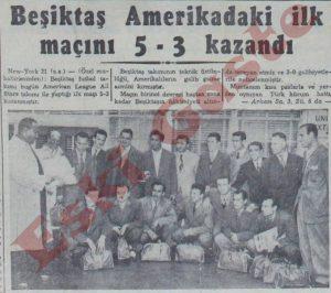 Beşiktaş Amerika'da