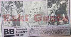 Brigitte Bardot sinemayı bırakıp Hayvanları Koruma Vakfı kurdu