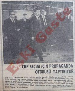 CHP Seçim Otobüsü