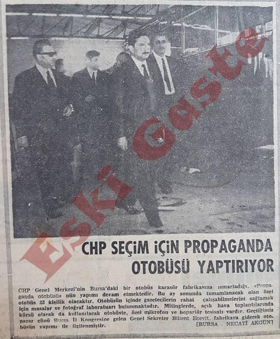 CHP seçim için propaganda otobüsü yaptırıyor