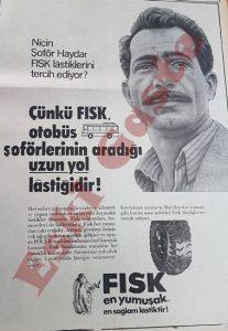 Fisk Lastik Reklamı