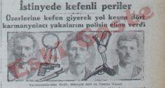 İstinye'de yakalanan karmanyolacılar