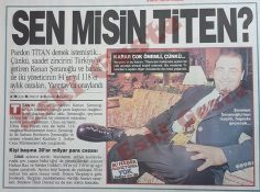 Kenan Şeranoğlu için 94 yıl hapis! Sen misin Titen?