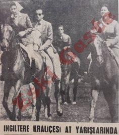 Kraliçe Elizabeth at yarışlarında
