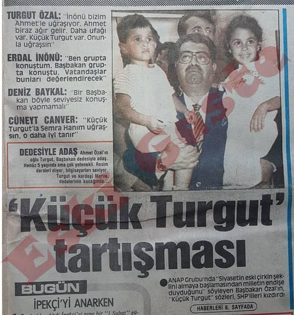 """Siyasette """"Küçük Turgut"""" tartışması"""