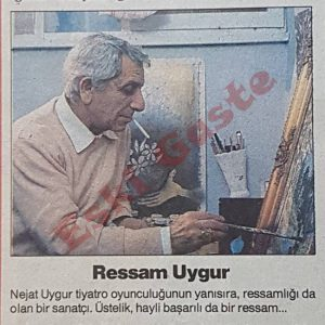 Ressam Nejat Uygur