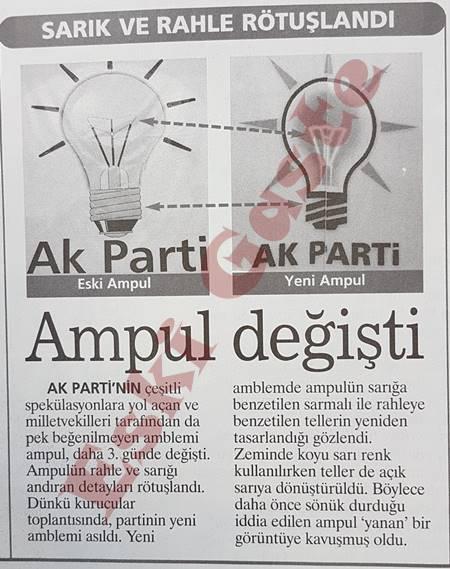 AK Parti logosu değişti