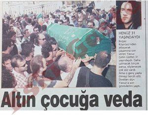 Yavuz Çetin Cenaze Töreni