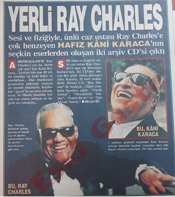 Yerli Ray Charles Kani Karaca