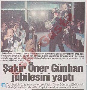 Şakir Öner Günhan
