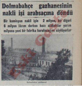 Dolmabahçe Gazhanesi