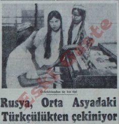 Rusya Orta Asya'daki Türkçülükten çekiniyor