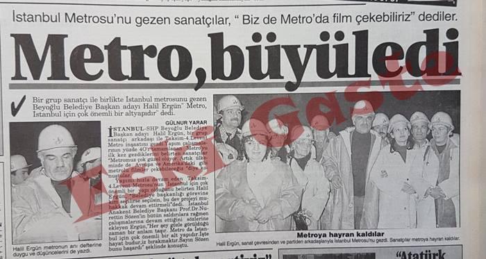 SHP Beyoğlu Belediye Başkan adayı Halil Ergün