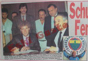Schumacher Fenerbahçe'de