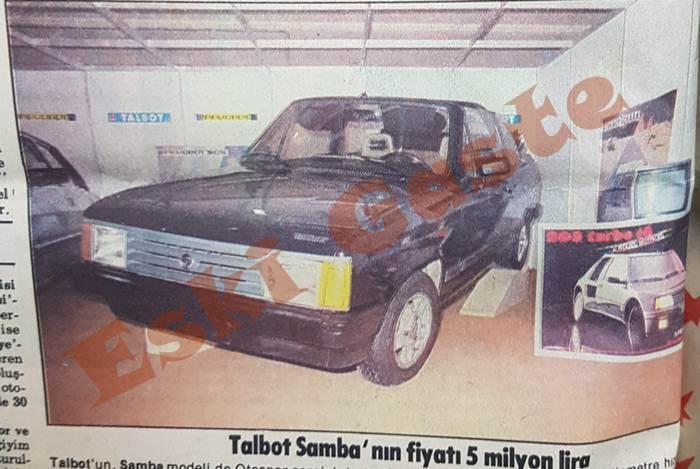 Talbot Samba da Otospor sergisinde