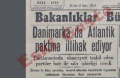 Danimarka'nın NATO'ya katılması
