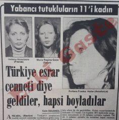 Türkiye esrar cenneti diye geldiler hapsi boyladılar