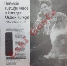 Siemens Marathon – S1 Cep Telefonu Reklamı