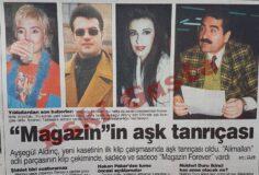 Ayşegül Aldinç Alimallah Şarkısına Klip Çekti