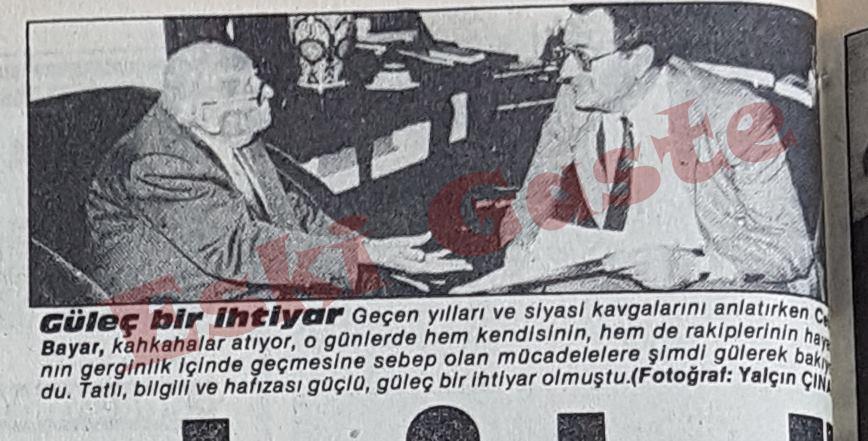 Celal Bayar ve Mehmet Barlas