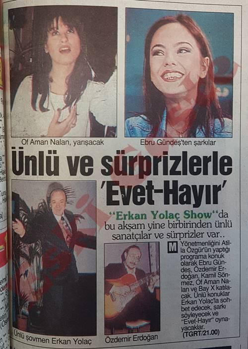 Eski Ebru Gündeş Haberleri