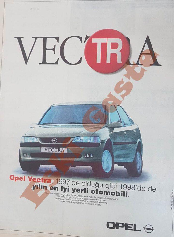 1998 Opel Vectra Reklamı